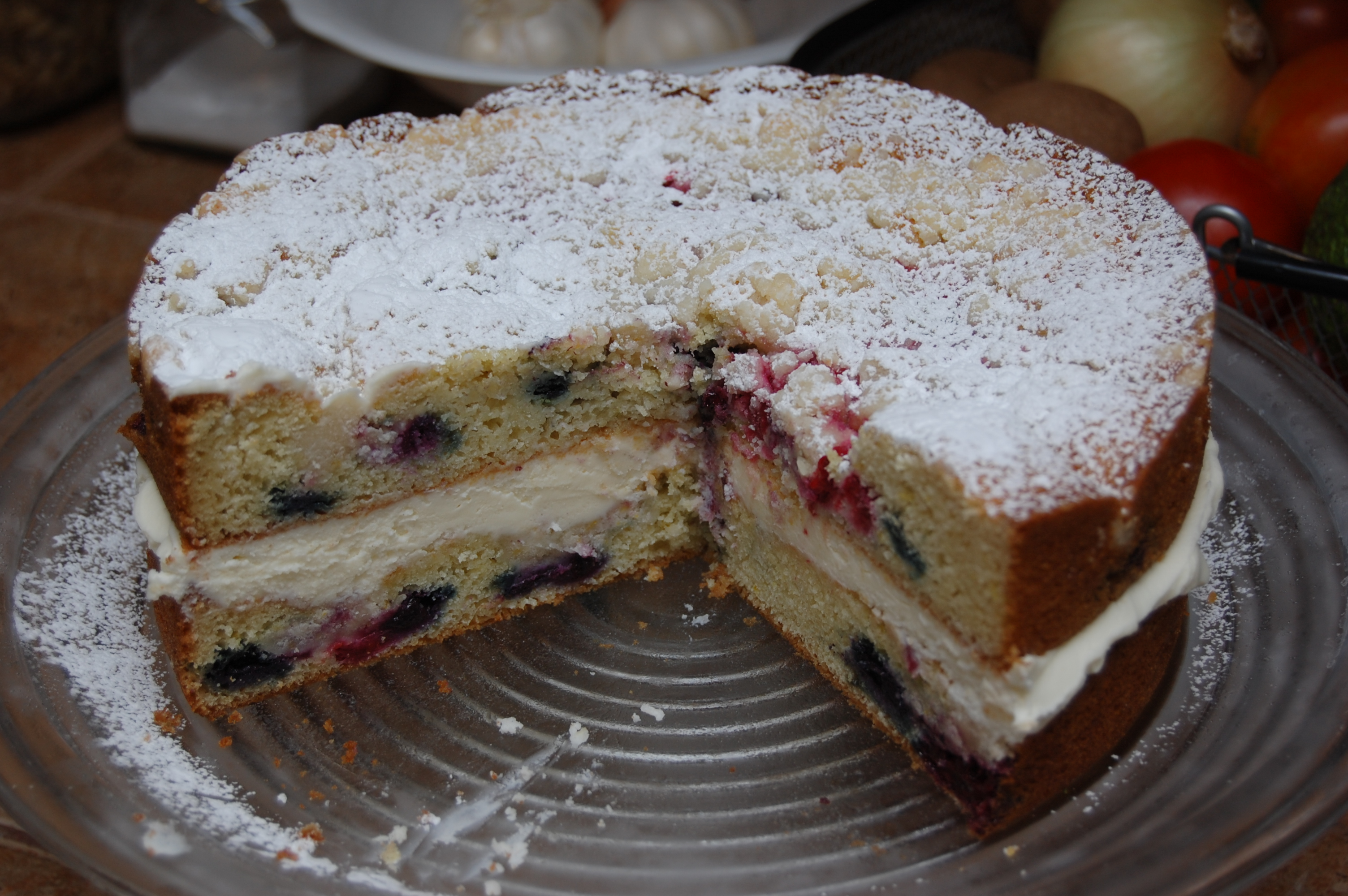 Lemon Berry Mascarpone Cake Sysco